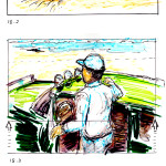 Storyboard sequence, the Shore,flat